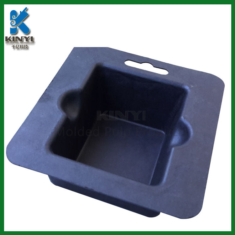 Sugarcane Bagasse Pulp Molded Biodegradable Packaging Trays